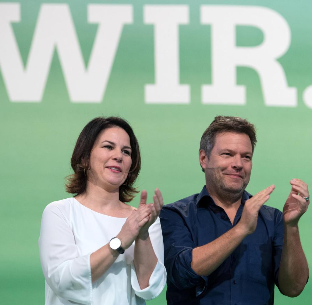 Parteiführer Annalena Baerbock und Robert Habeck -