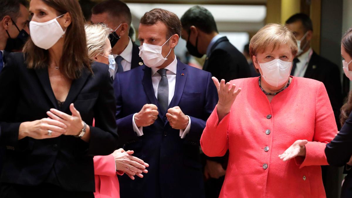 """EU-Gipfel: Macron wartet auf """"Moment der Wahrheit"""" - Merkel skeptisch"""