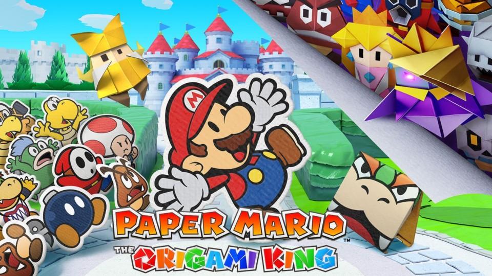 Paper Mario: Origami King - der erste Paper Adventure Trailer für Switch