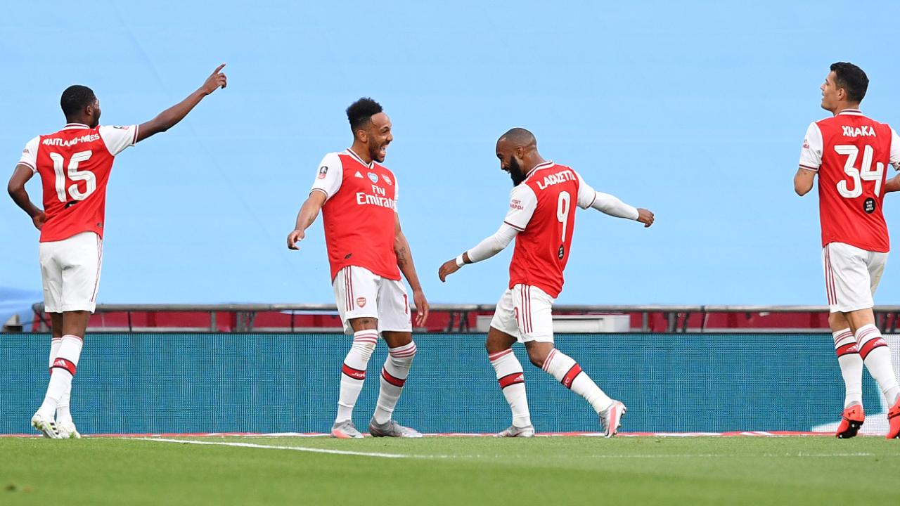 Photo of FA Cup, FC Arsenal – Manchester City: Aubameyang tanzt Gunners im Finale – Fußball