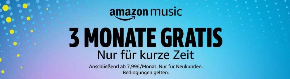 Amazon Music Unlimited 3 kostenlose Münzen