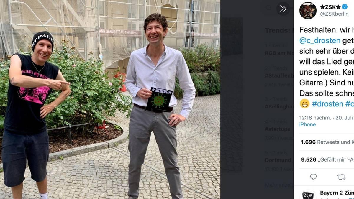 Photo of Christian Drosten möchte das SOK-Lied über sich selbst interpretieren