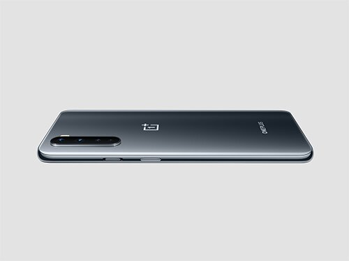 OnePlus Nord in grauem Onyx