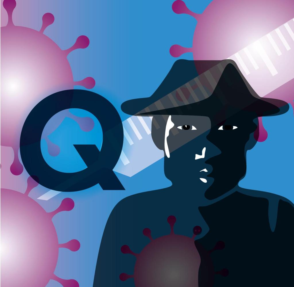 Herr Q schluckt kein Adrenochrom