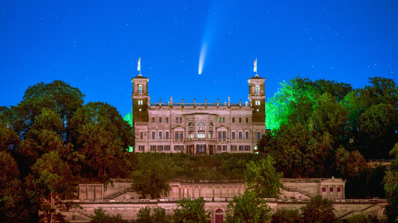 Photo of Neetise Comet kommt heute der Erde näher – der Schwanz ist Millionen von Meilen lang – Führer