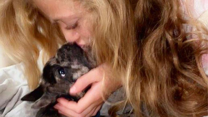 Prinzessin Tiaamii und ihr Hund Rolo, Juli 2020