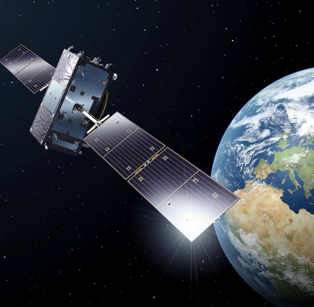 Neuer Wettbewerb: Das Galileo-System - hier ein Beispiel der Raumfahrtagentur ESA - ist eine Geschichte für Großbritannien. Jetzt geht das Land seinen eigenen Weg