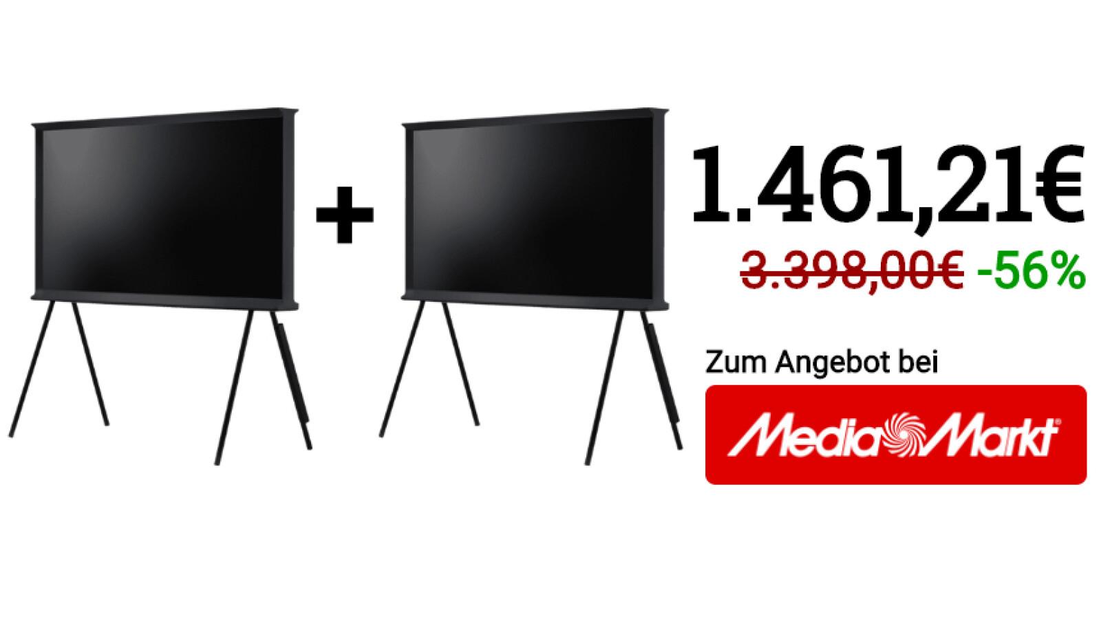 Photo of Samsung QLED TV kostenlos: 2 für 1 im Media Markt – sparen Sie über 870 Euro