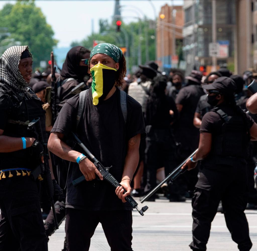 US-POLITIK-Rassismus-Protest-Aufstand
