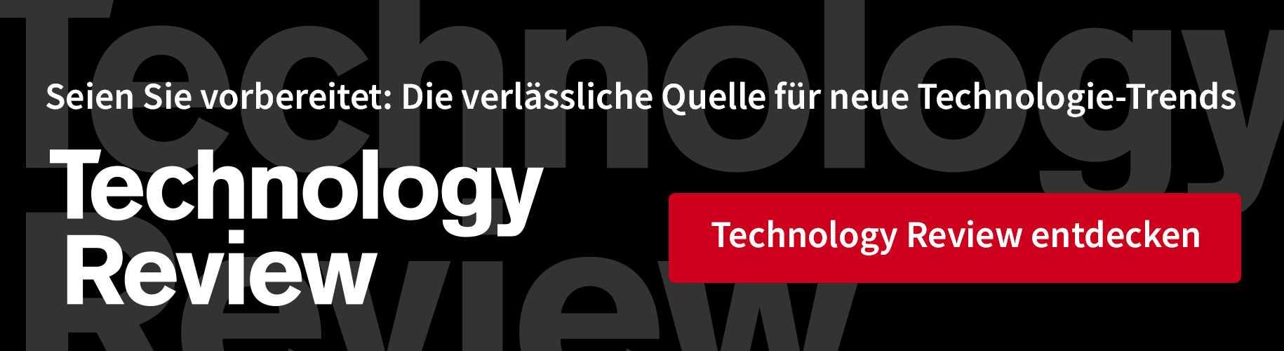 Mehr von Technology Review