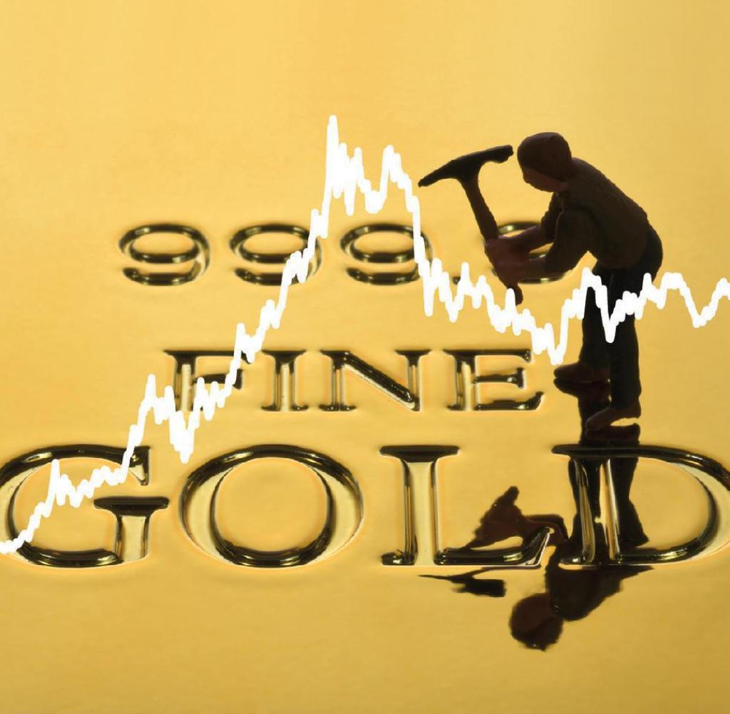 Der Goldpreis wächst und wächst.  Jetzt widmet es sich dem Finanzministerium