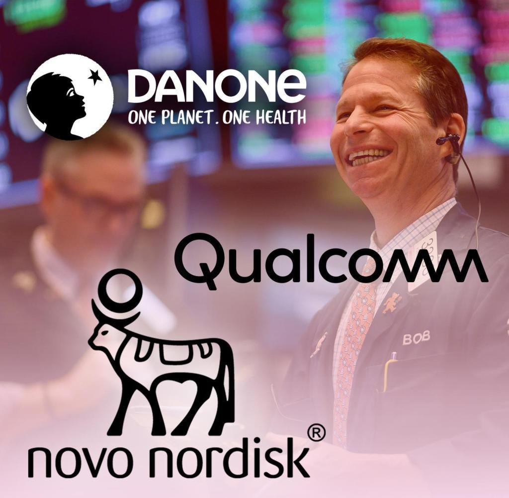 Danone, Novo Nordisk und Qualcomm gehören zu den 20 Gewinneraktien, die sich der Corona-Krise widersetzt haben und deren Zukunftsaussichten gut sind