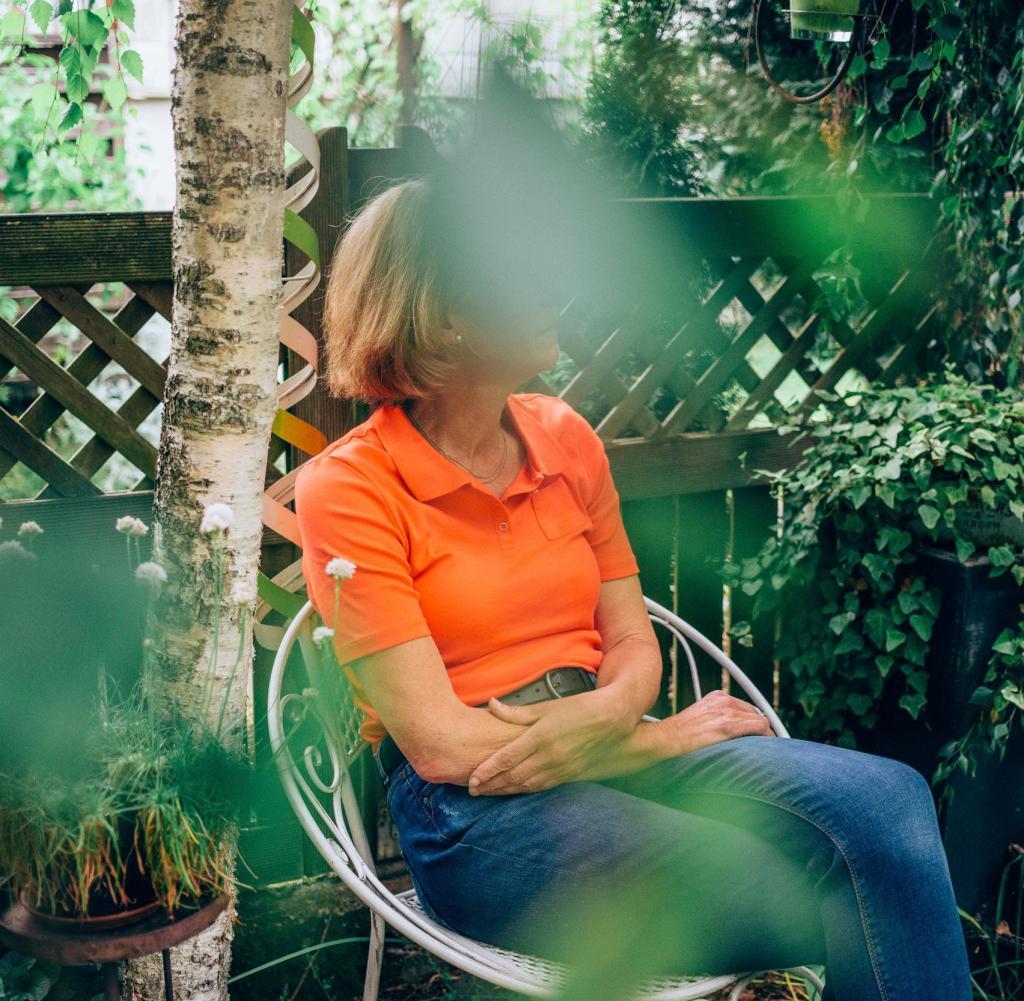 Inge V. möchte nicht, dass ihr Nachname veröffentlicht wird, weil sie nicht weiß, ob ihr Mann zustimmen würde - er ist seit neun Wochen auf der Intensivstation