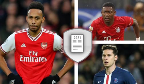 Alaba, Thiago & Co: Die wertvollsten Vertragsspieler laufen 2021 aus
