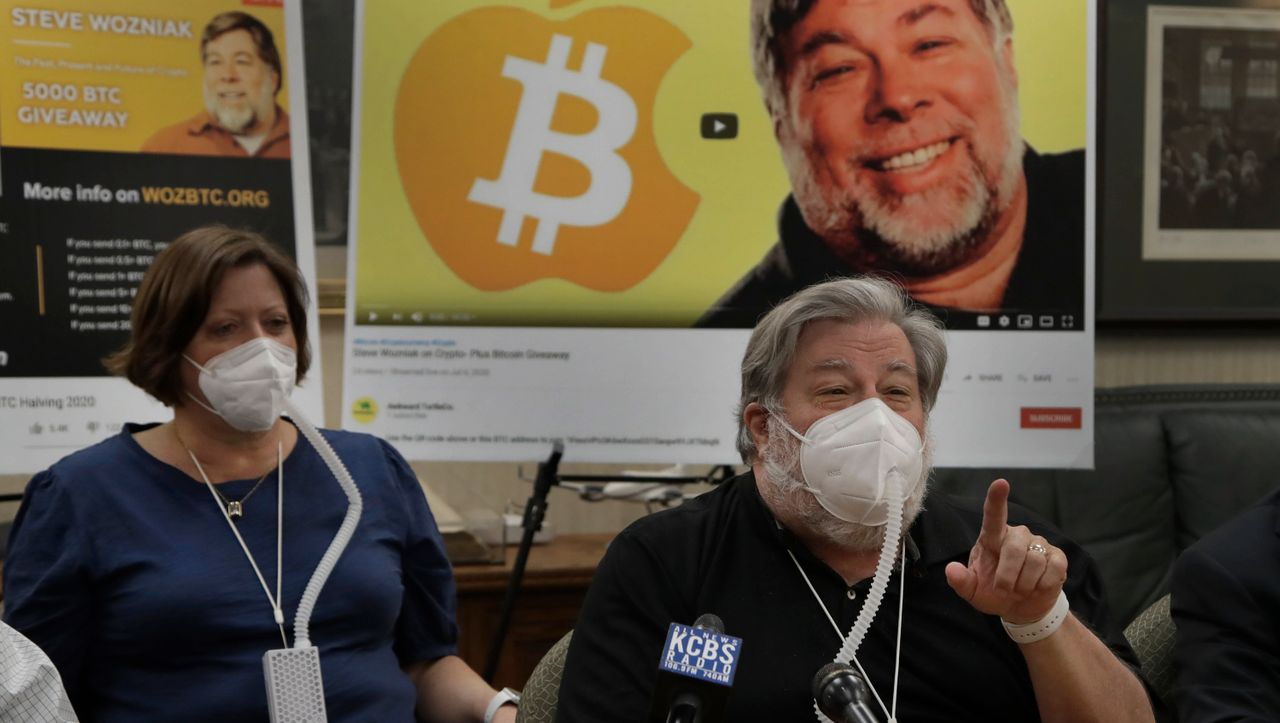 Photo of Bitcoin-Betrug: Apple-Mitbegründer Steve Wozniak verklagt Google und YouTube
