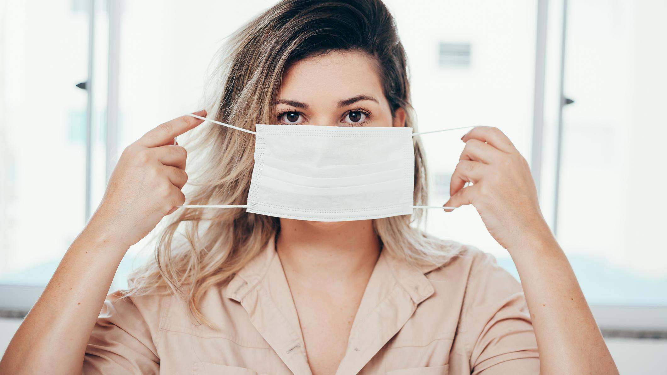 Coronavirus: Erste Gesichtsmaske tötet die Viren