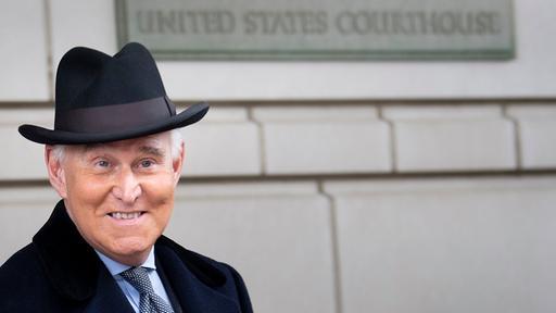 Ehemaliger Berater: Trump rettet Stein aus dem Gefängnis