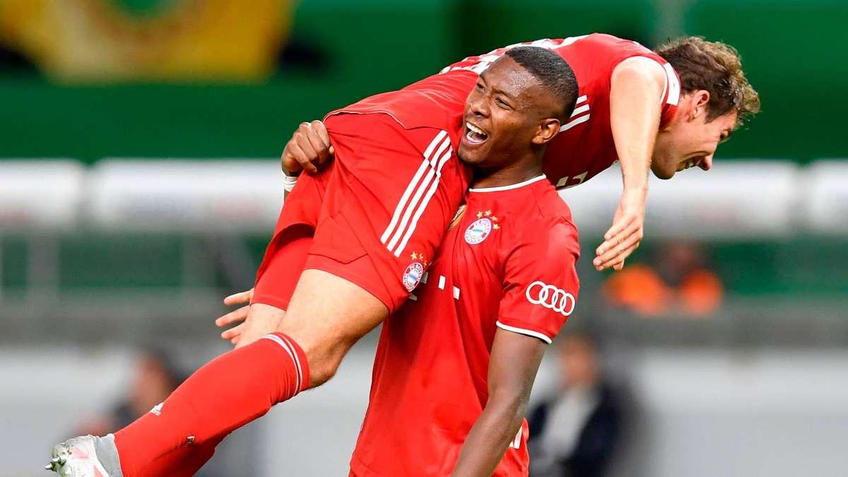 FC Bayern München: Alaba feste Zukunft?  Die Präsentation in Jersey gibt klare Hinweise