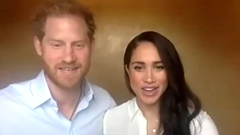 Aussage im Videoanruf: Harry und Meghan über die britische Kolonialzeit: