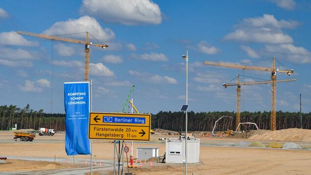 "Photo of ""Gigafactory"" in Grünheide: Tesla kann mit der Shell beginnen – auf eigenes Risiko – Berlin"