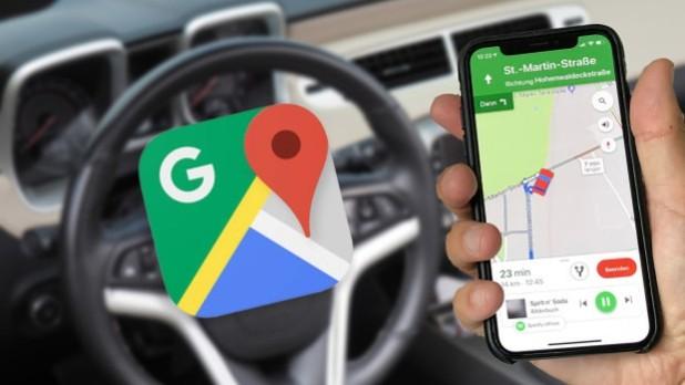 Google Maps als Navigationssystem: Ein einfacher Trick spart viel Batterie