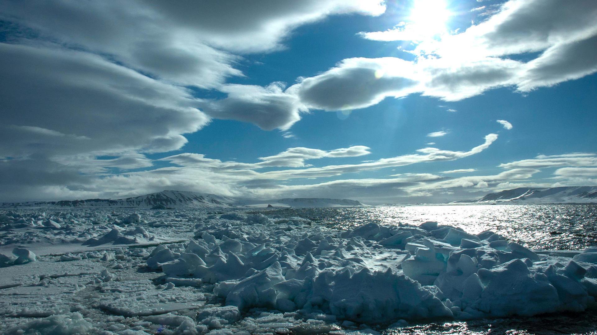 Höchster Wert seit 1979: Rekordtemperatur gemessen in Spitzbergen