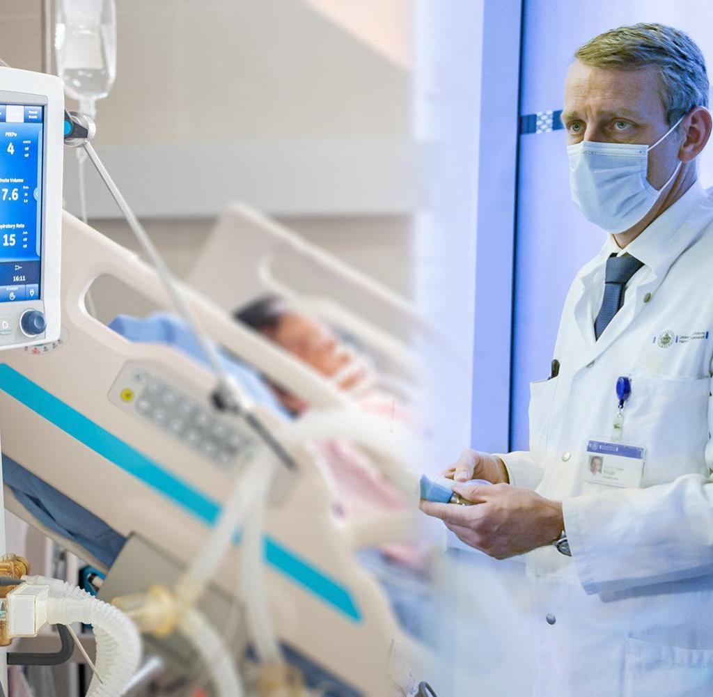 Die Grenze für Covid 19-Patienten wurde in der UKE nicht erreicht, sagt Klinikdirektor Stefan Kluge