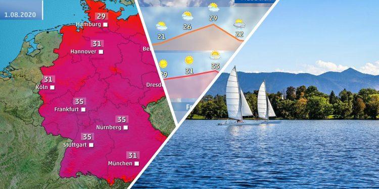 Wetter 2 Wochen Bielefeld