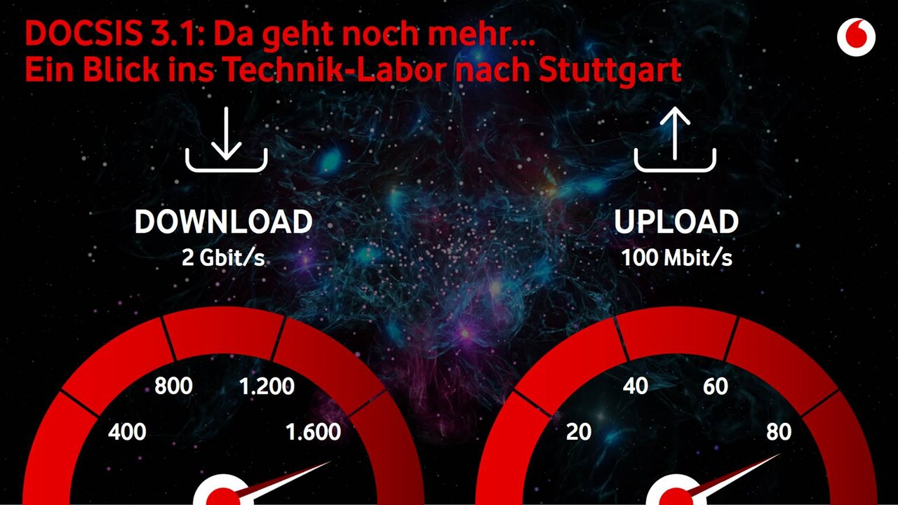 Photo of Kabelnetz: Vodafone plant mit 100 Mbit / s in Uplink und DOCSIS 4.0