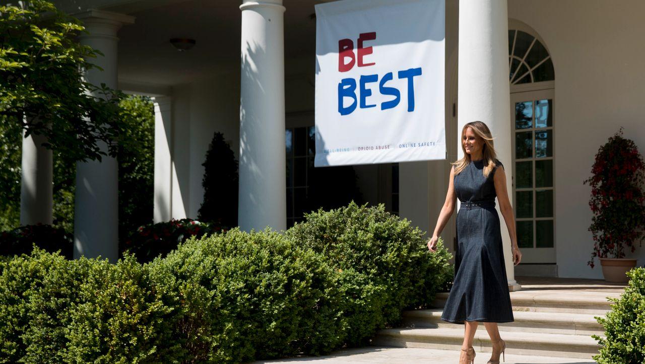 Photo of Melania Trump erlebt einen schweren Sturm für die Renovierung des Rosengartens