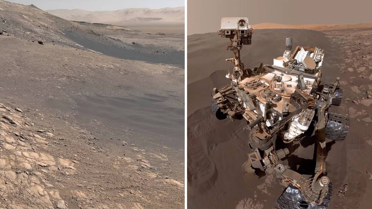 "Photo of Nasa: Der Mars-Marsch ""Curiosity"" sendet Bilder des roten Planeten"