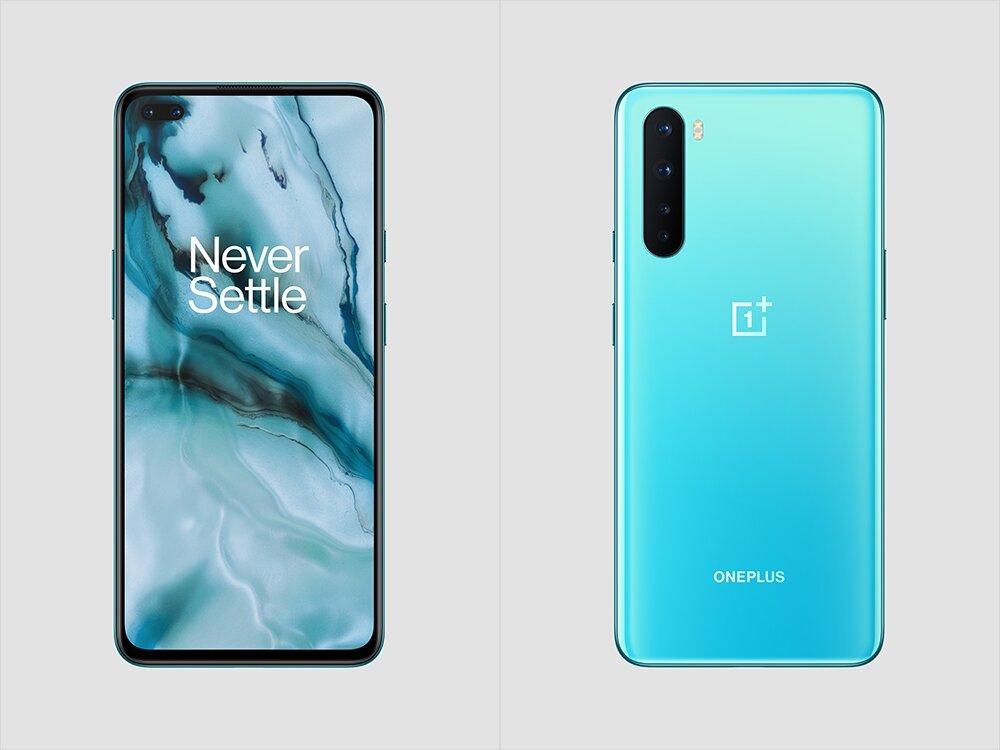 OnePlus Nord aus blauem Marmor