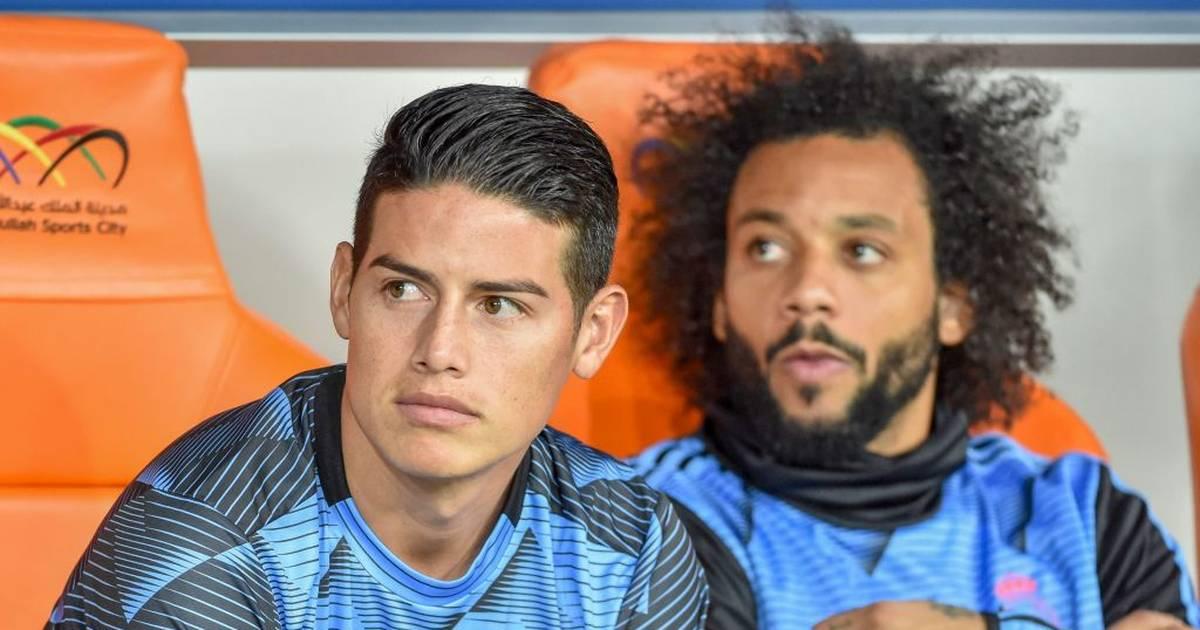 Real Madrid: James Rodriguez ist ausgeschlossen