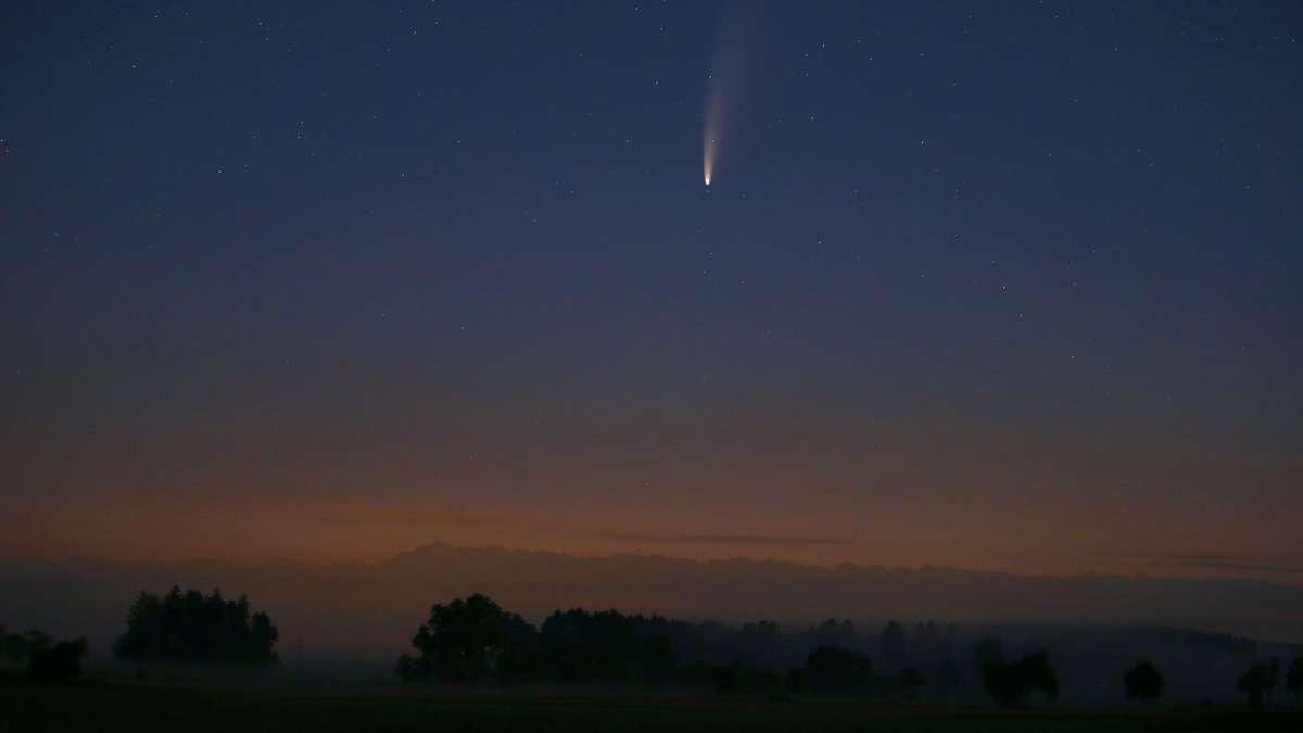 Sehen Sie Neowise heute: Wo und wann können Sie Kometen sehen