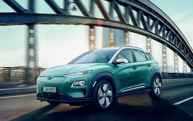Hyundai Kona Electro.