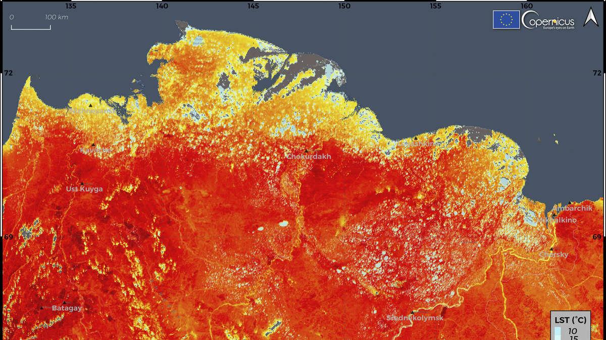 """Photo of Wetter: """"Arktis brennt"""" – Hitzewelle hat verheerende Folgen in Deutschland – Forscher sind besorgt"""