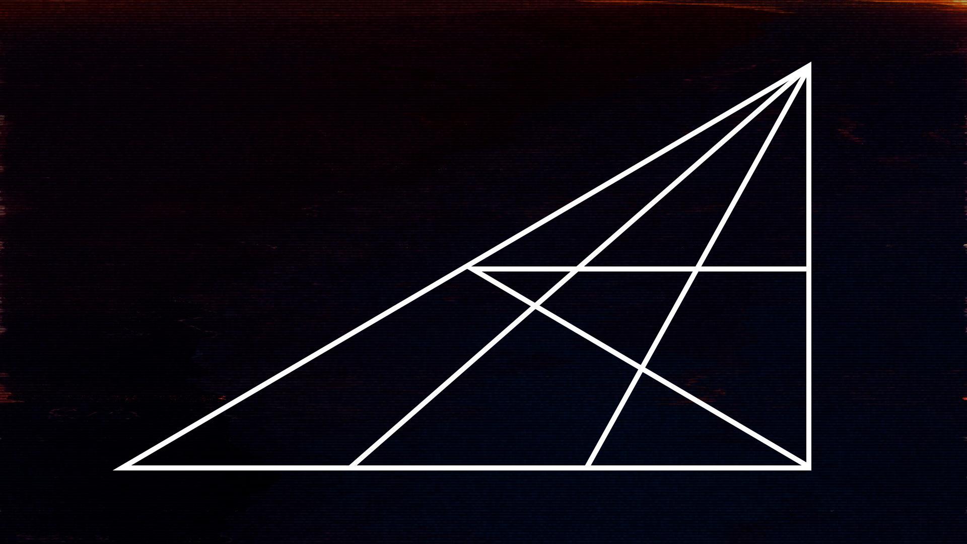 Photo of Wie viele Dreiecke findest du?