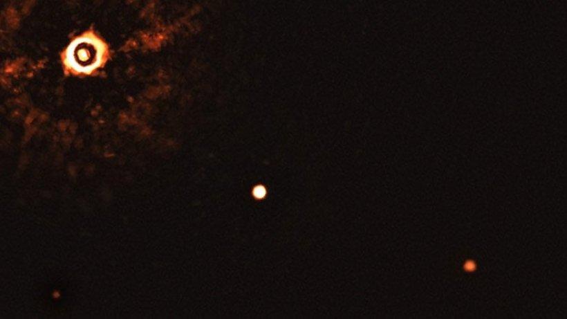 Photo of Zum ersten Mal wurde ein neues Planetensystem mit einem Sonnenstern fotografiert