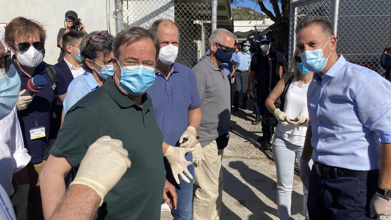 Photo of Armin Laschet hört auf, Moria in Lesbos zu besuchen – Innenpolitik