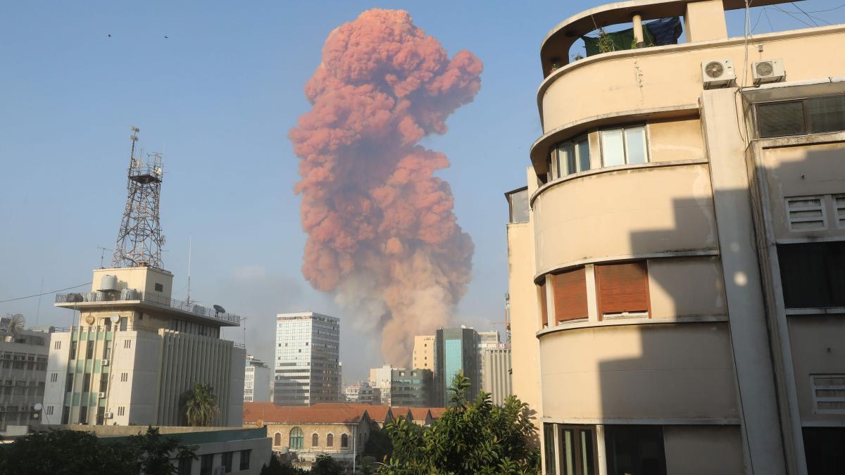 Libanon: Gewalttätige Explosionen erschüttern Beirut - Tausende verletzt