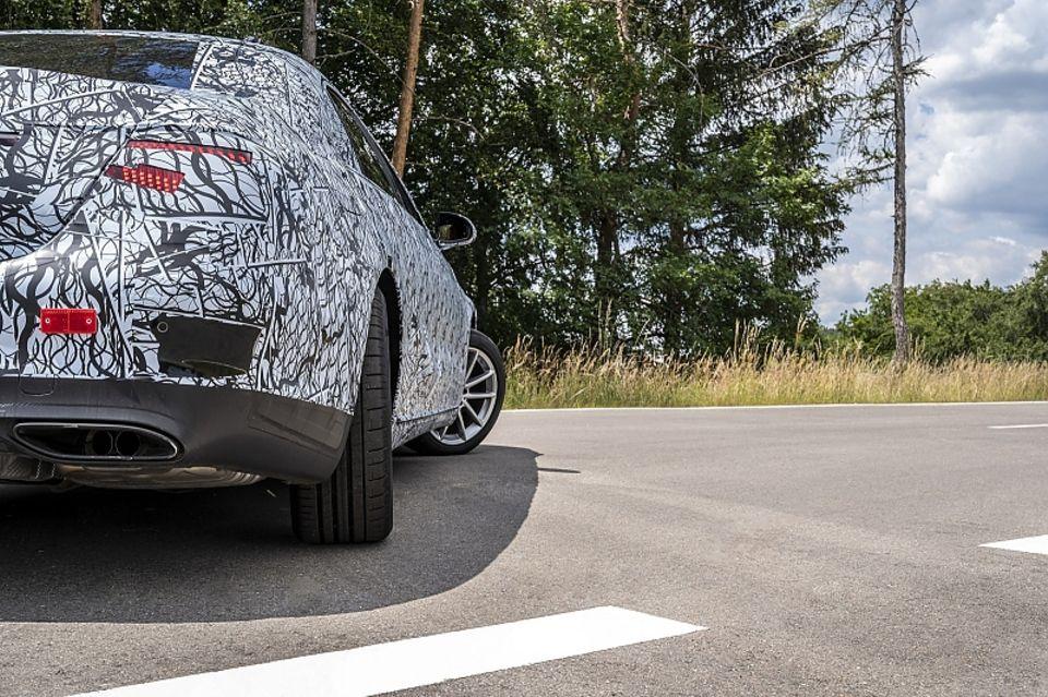 Mercedes S-Klasse W 223 2020 Test