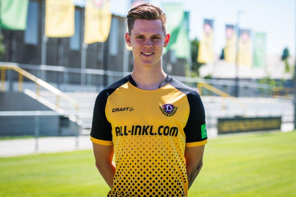 Julius Kade (21) ist der zehnte Youngster von Dynamo Dresden.