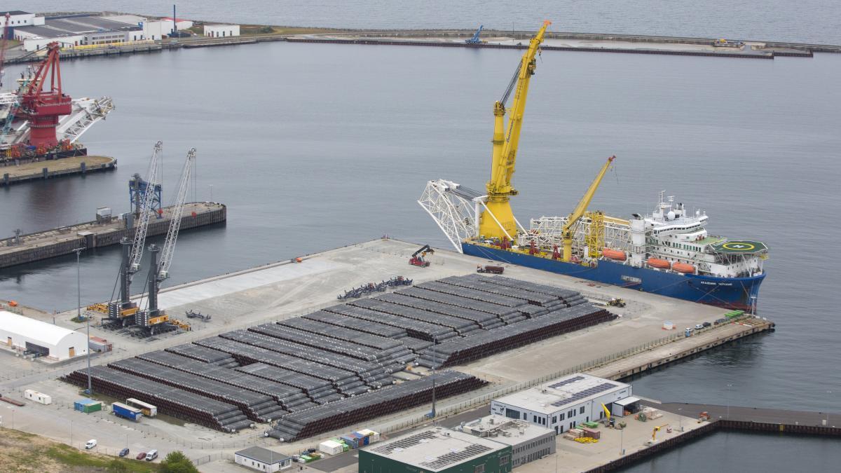 """Nord Stream 2: USA bedroht deutschen Hafen von Sassnitz mit """"wirtschaftlicher Verwüstung"""""""