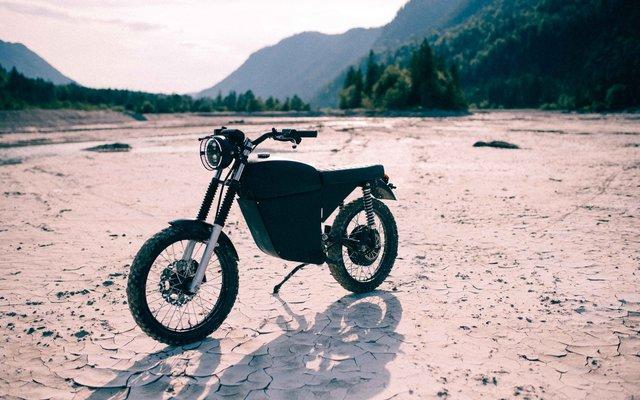 Cooles Design und erschwinglicher Preis - BlackTea Motorräder