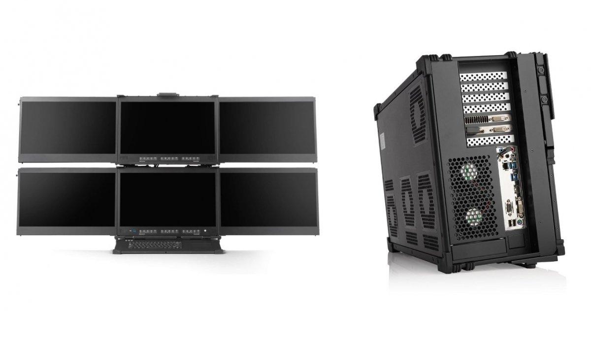 Photo of Workstations in a-X2P-Medien: Computergehäuse mit bis zu 128 Zen-2-Kernen und 6 Bildschirmen