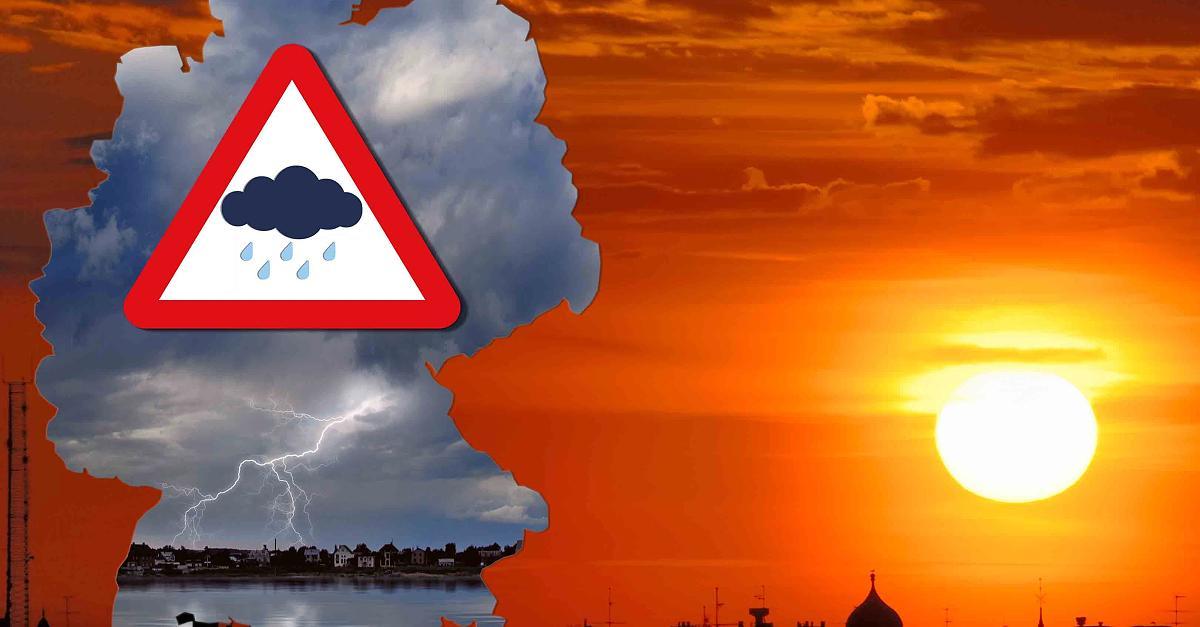 Hitze in Deutschland: drückende Schwere - wo Hitzeexposition gefährlich ist - Meteorologie