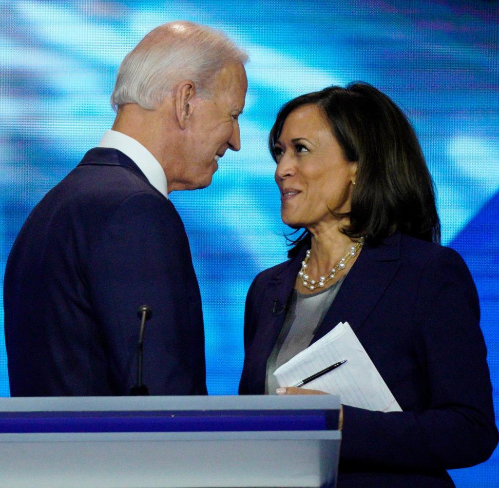 Biden kandidiert mit Harris zur Wahl
