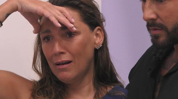 Simone Mecky-Ballack ist wegen Alessias Anschuldigungen völlig müde.  (Quelle: SAT.1)