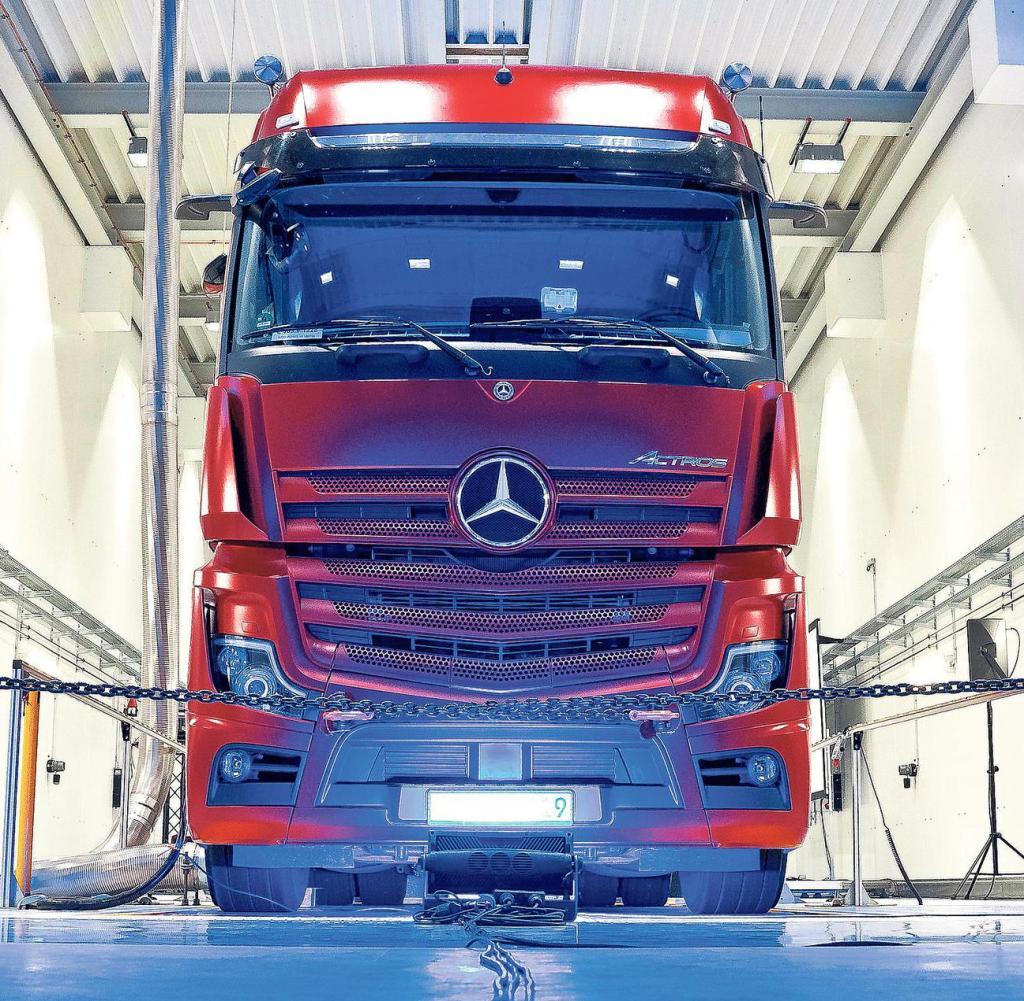 Daimler-Lkw werden bald mit Brennstoffzellen fahren