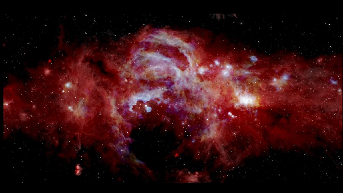 Photo of Astronomen haben einen Riesen an einem verborgenen Ort im Universum entdeckt